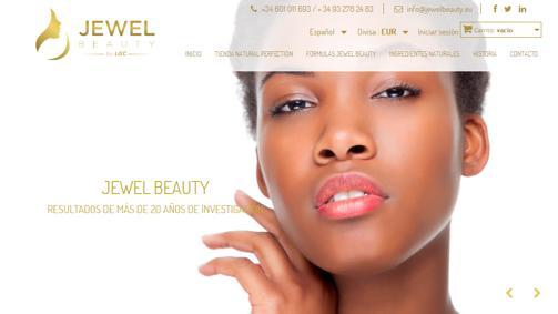 Diseño pagina web jewelbeauty