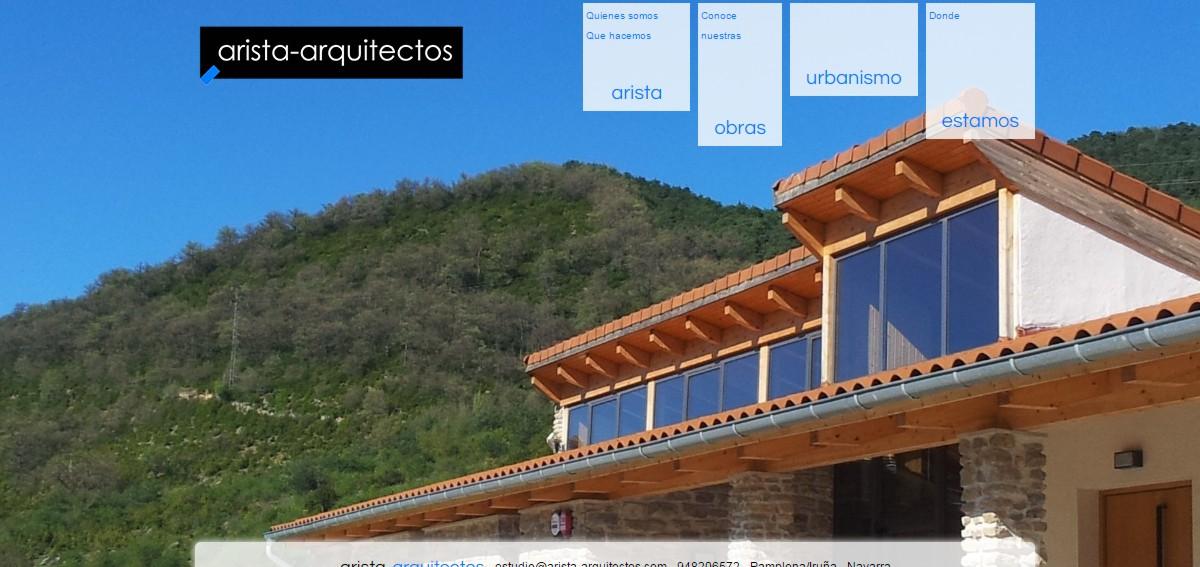 web arquitectos obras urbanismo