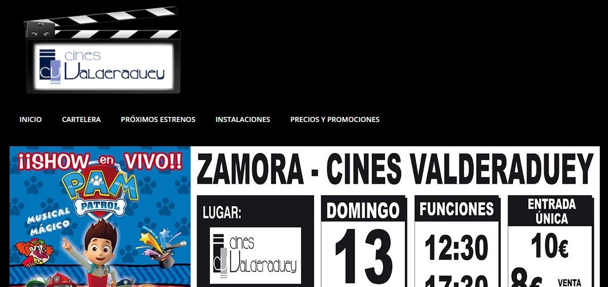 web cines multicines