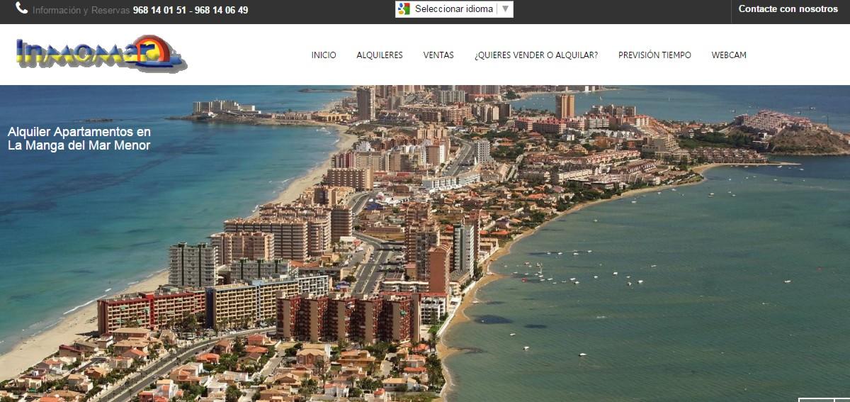 web alquiler de apartamentos