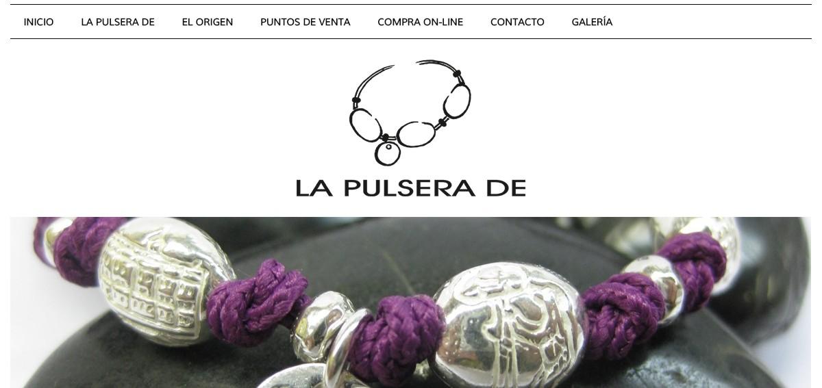 web diseños de joyería la pulsera