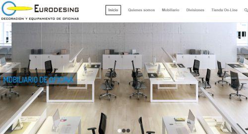 Diseño pagina web Eurodesing
