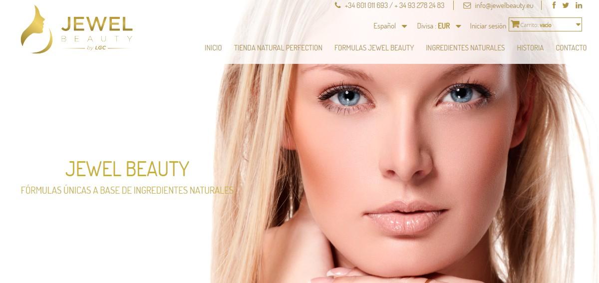 web laboratorios cosméticos
