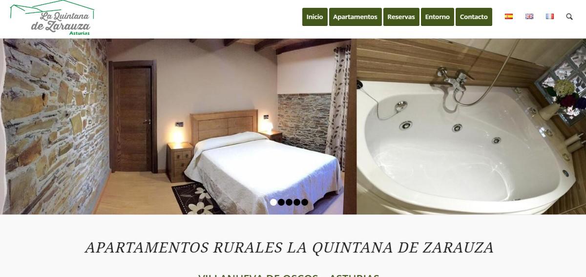 web apartamentos y casas rurales