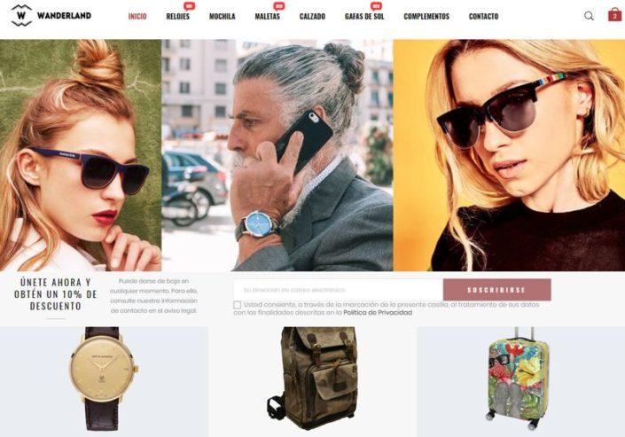 Tienda Online Viajeros